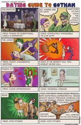Dating Guide to Gotham by MadGeneticist