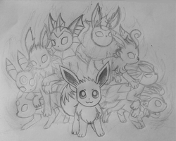Holiday Challenge! Day 21 - Extreme Evoboost by LolloTheVaporeon
