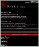Red+Black CSS by JSTradArt