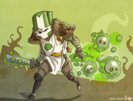 the green knight by jouste