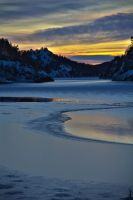 HDR: Cold Sunset by mthows1