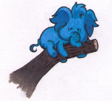 The Adventures of Trunks the Tiny Elephant by bloomacnchez