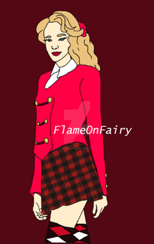 Heather Chandler by FlameOnFairy