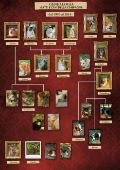 Familytree (pedigree) cats and dogs free by Panaiotis