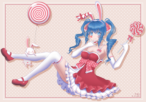 Sweet Bunny by Juywu