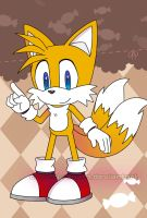 Tails postcard by Crystal-Ribbon