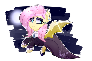 Goth By Day, Bat By Night (Speedpaint) by BronyCooper