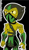 Reptile by DeVanceArt