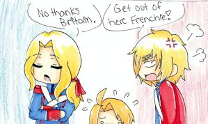 France Enters America by black-feather1013