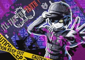 Persona 5 x NDRV3 Saihara Finishing Touch by shirodebby