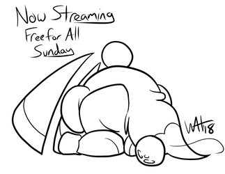 Now Streaming by Inkwell-Pony