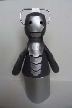 Cyberman puppet by nycalder