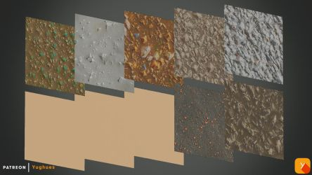 Free Textures Pack 69 by Yughues