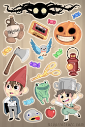 OTGW Sticker Sheet by BluevanDeurs