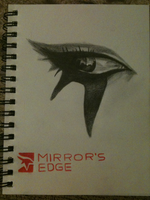 Faiths Eye from Mirrors Edge by Sophie-Lawson