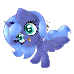 Widdle Woona by Avelineh