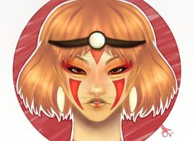 Mononoke by Ashcoloured