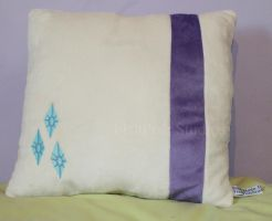 Rarity Themed Cushion by LiChiba