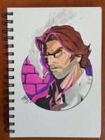 Day 196 Bigby by TomatoStyles