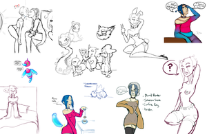 Sketchdump Part Dos by Nefepants