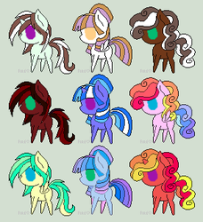 Cheap Icecream themed Pone Adopts CLOSED by snowflake990