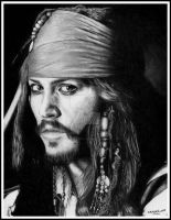 Captain Jack Sparrow by Doctor-Pencil