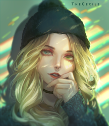 Comm AshleeHawksworth (+speedpaint) by TheCecile