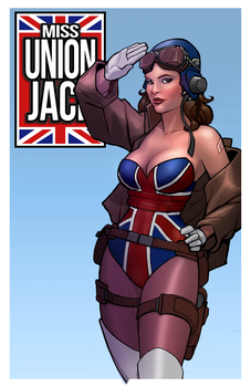 Peggy Carter: Miss Union Jack by digitalgil