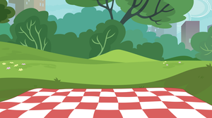 Picnic background by iscord