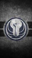 Star Wars Old Republic Symbol Cellphone Wallpaper by swmand4