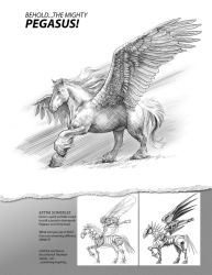 How to draw PEGASUS 8 by PatrickThornton