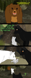 Wolfquest comic 2 stupid mate by MQSdwz35