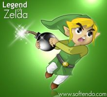 Legend of Zelda - Hero Bomb by softendo