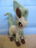 Leafeon by NerdyKnitterDesigns
