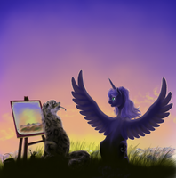 Painting lesson by grayma1k