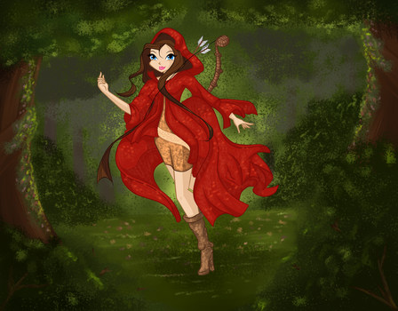 COM: Vivace in the forest by Fiesonie