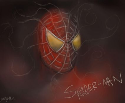 Spiderman 2099 by youngartt