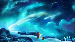 Shooting Star Summit by Cronoan