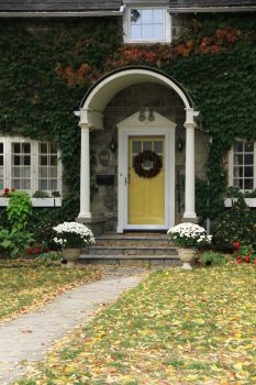 Front House Arch by Queen-Of-Stock-Photo