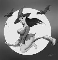 Witchy Warm-up by greasystreet