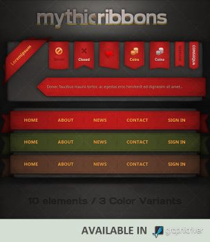 Mythic Ribbons by Evil-S