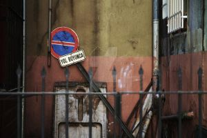 No parking all along the road by muratcangokce