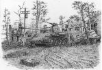 Panzer in Vellage  (Black Ball-point Pen Work) by lhlclllx97
