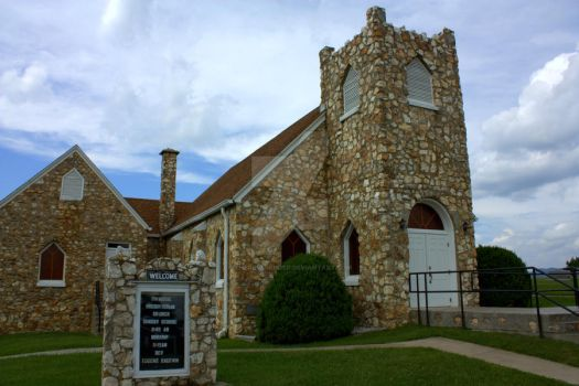 Dinwiddie Church by TheReverendEd