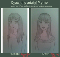 Meme: Draw This Again by FloatingPinkElephant