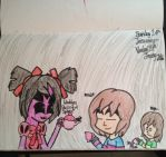 Invited for tea(Undertale) by Riyana2