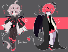 Adoptables | Demon bois closed by SparksTea