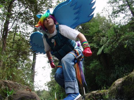 Rainbow dash #4 TIME TO FLY by slyfer3k