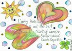 Happy Holiday Card Project by vikaherbs