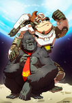 OW - Winston and Donkey Kong by oNichaN-xD